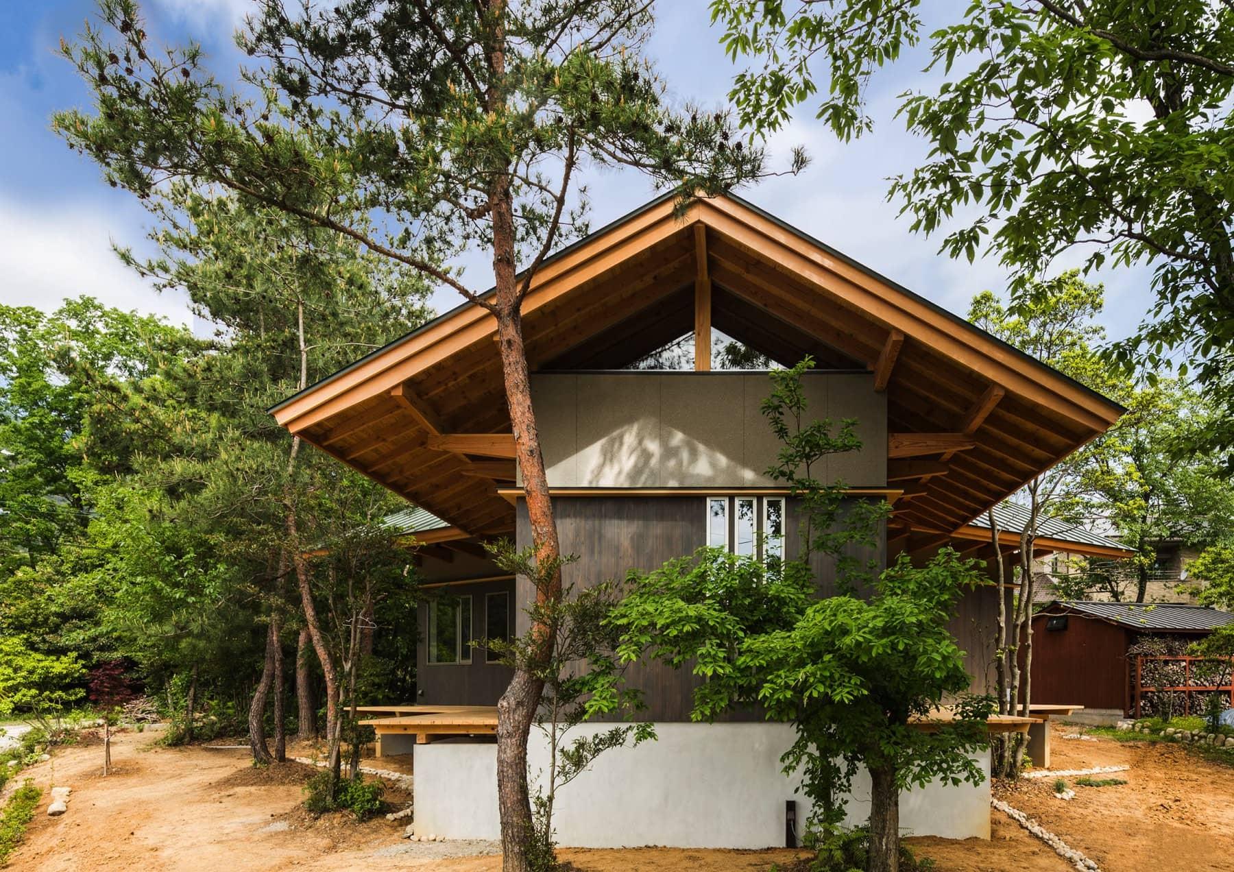尾高高原の家