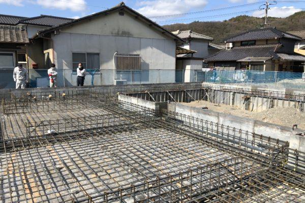 井原の家 配筋検査